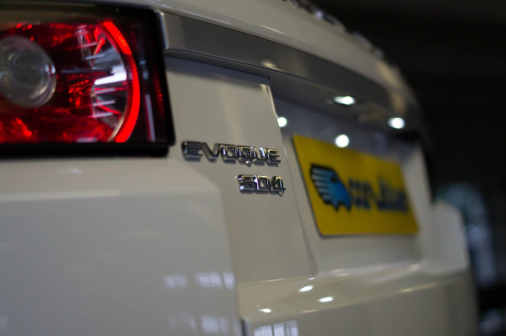 Range Rover Evoque Coupe Badge