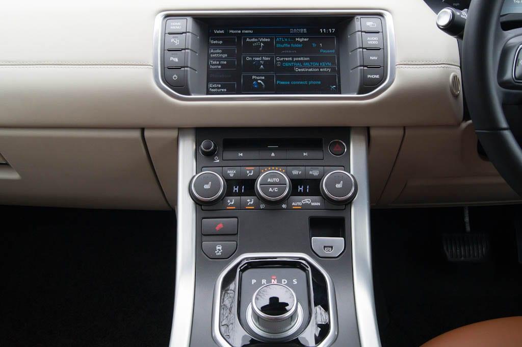 Range Rover Evoque Coupe Center Console 2