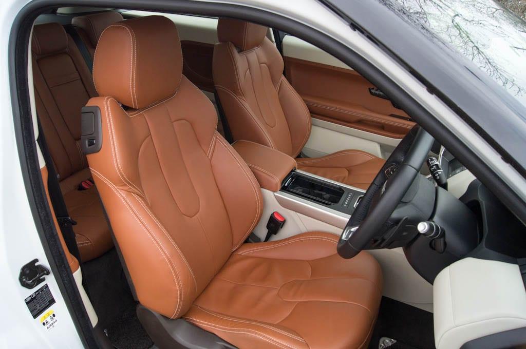 Range Rover Evoque Coupe Interior