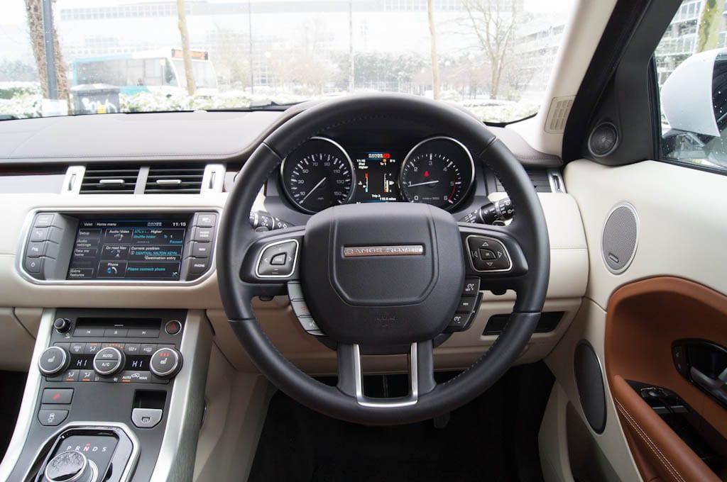 Range Rover Evoque Coupe Steering Wheel