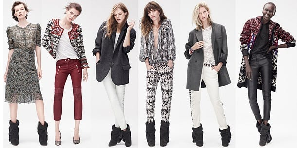 Isabel Marant's Collection for H&M which launches today.