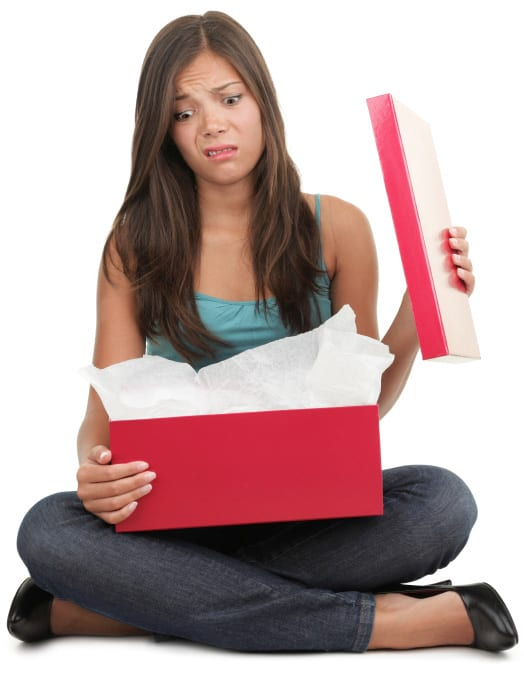 isolated-woman-upset-with-gift