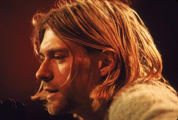 This is where it all began, as a teenager, Kurt's messy long hair and 4 day growth was all I daydreamed about.