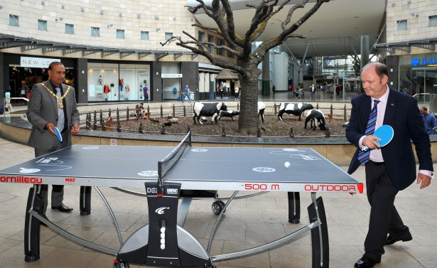 Table Tennis at INTU 03