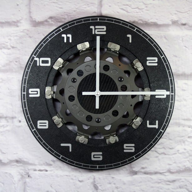 LRCLOCK Brake Disc Clock 1