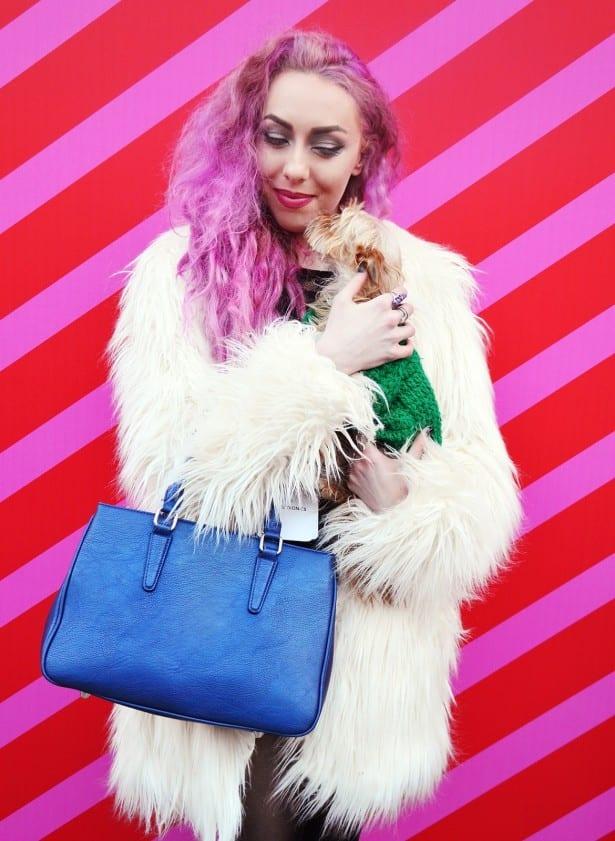 white-yeti-coat-longtallsally-dog-fashion-week-london-stephi-lareine-blogger-lifestyle