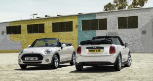 More driving fun, more fresh air. The new MINI Convertible