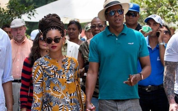 Beyoncé and Jay Z visit Cuba in 2014