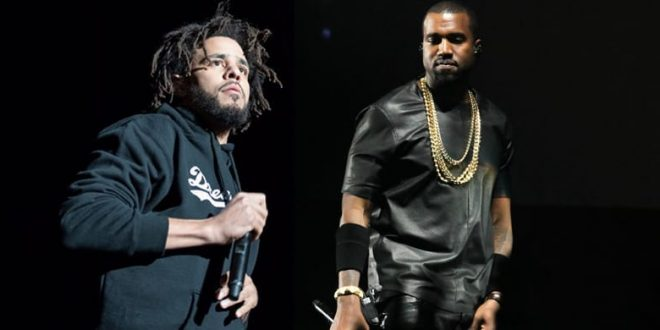J Cole takes a swipe at Kanye on new track