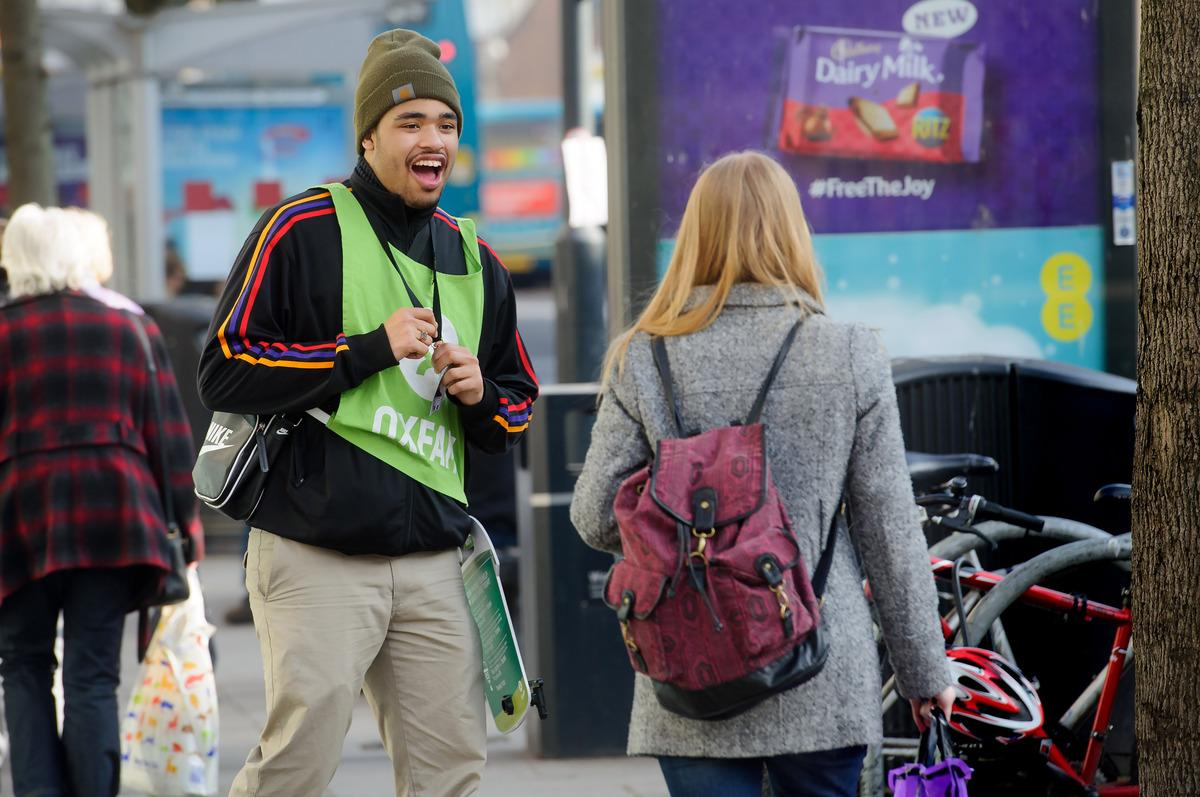 Often intimidating for vulnerable people, street fundraising needs rules