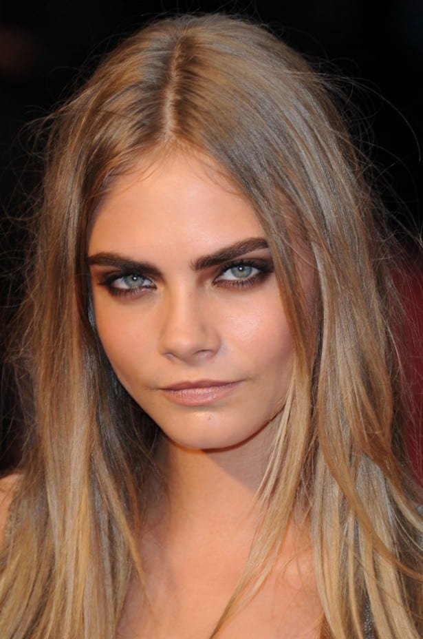 beauty, fashion, makeup, make up, Delevingne, Cara Delevingne, style,