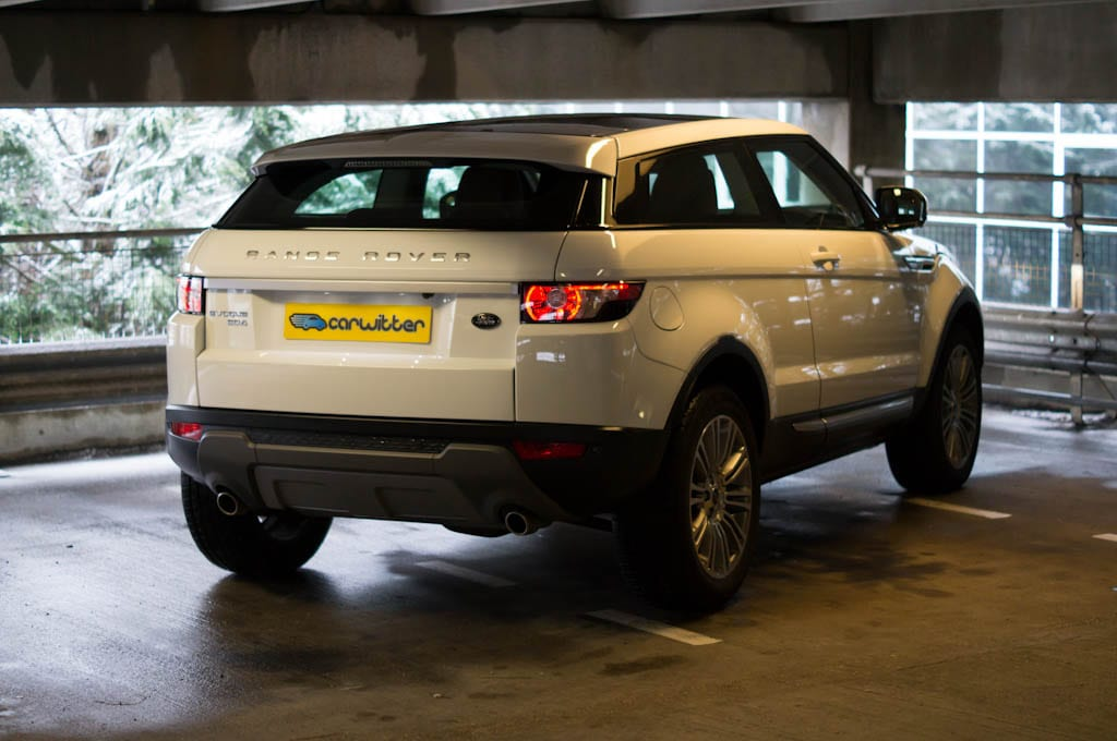 Range Rover Evoque Coupe Angle Rear 2