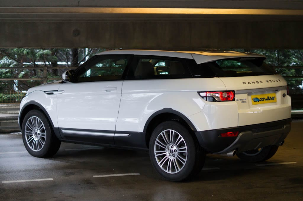 Range Rover Evoque Coupe Angle Side