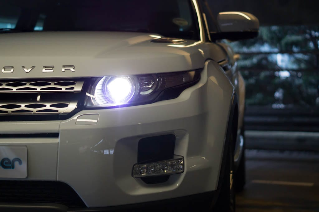 Range Rover Evoque Coupe Headlight