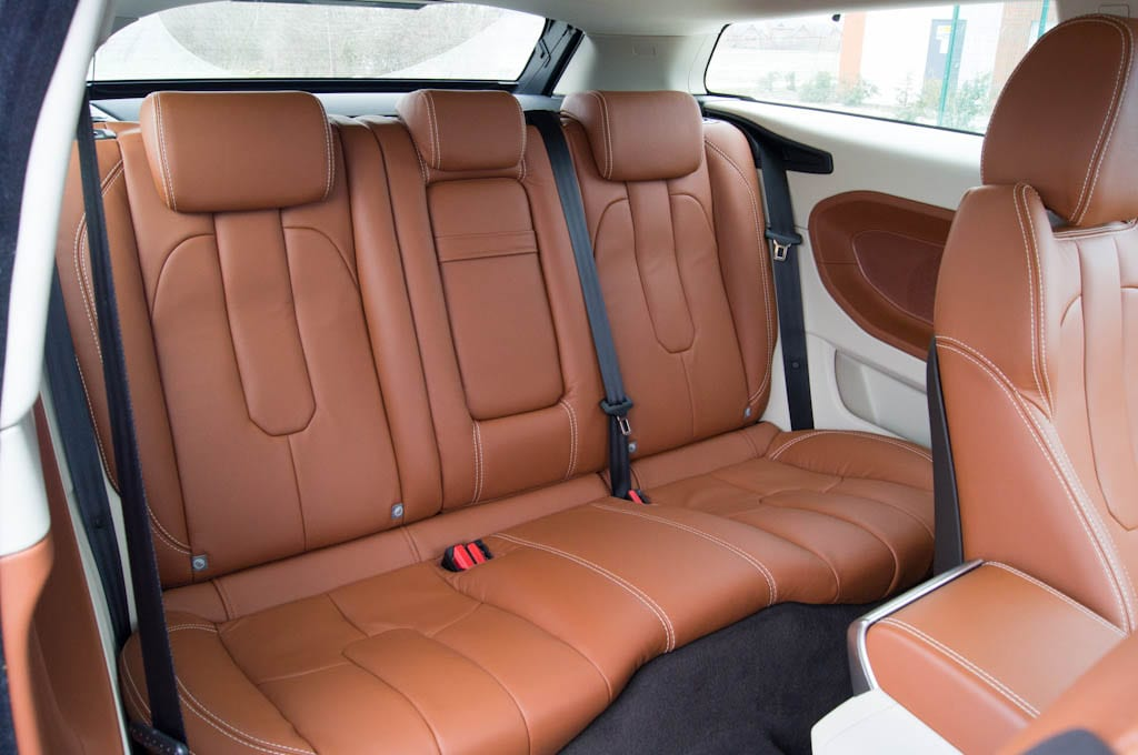 Range Rover Evoque Coupe Interior Rear
