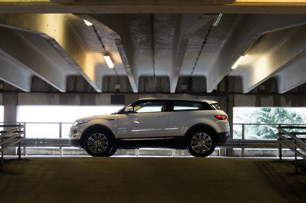 Range Rover Evoque Coupe Side