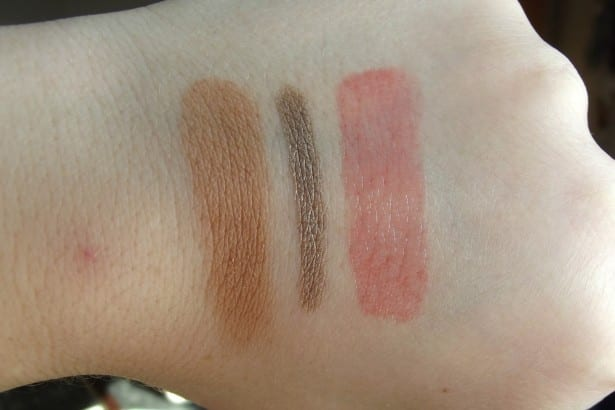 Liz Earle Natural Glow Bronzer, KIKO Eyetech Look Eyeshadow in 112, KIKO Kiss Balm Lip Balm in Strawberry