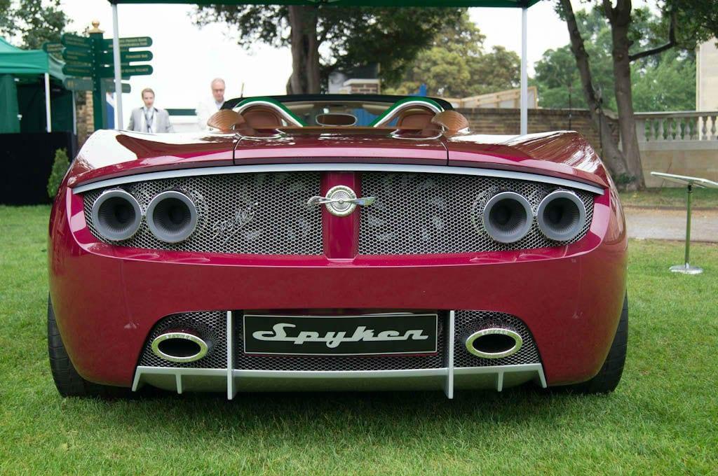 Salon Prive 2013 - Spyker B6 Venator Rear - carwitter