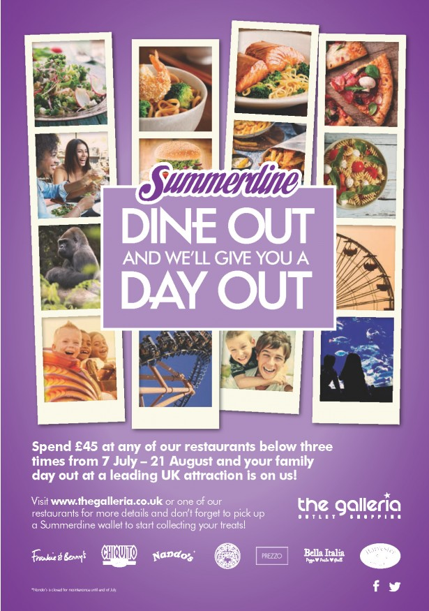 Dine Out for a Day Out with the Galleria and TrendLife Magazine
