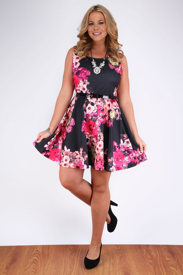 One of the fabulous dresses from Yours Clothing | Plus size dresses