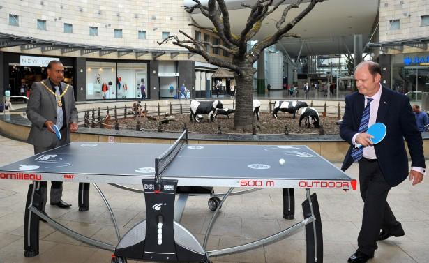 Table Tennis at INTU 03