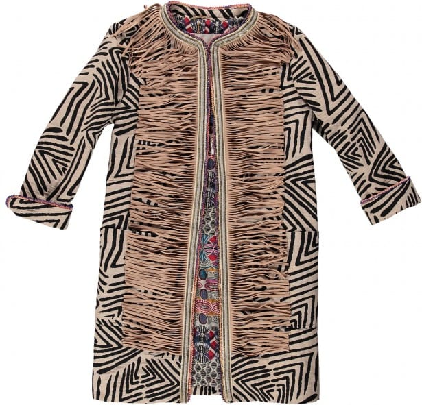 Safari Tassel Coat