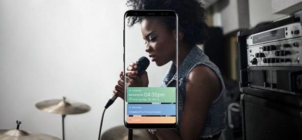 Samsung's Bixby home screen