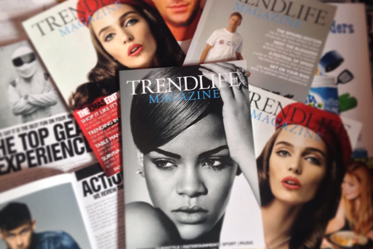 Trendlife Magazine is available to download online or from any of our stockists.
