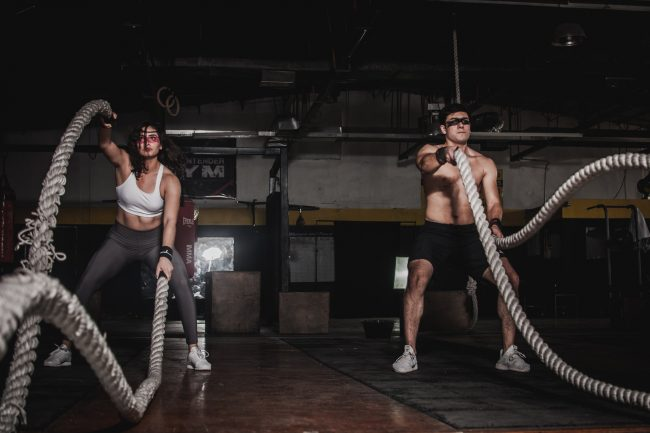 Fitness trends - HIIT training
