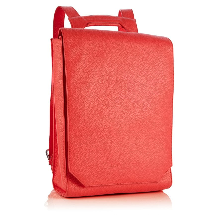 David Hampton Lilly Leather Backpack Pink - £395