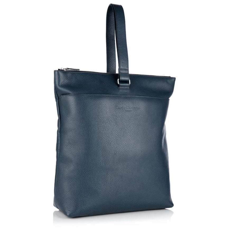 Molly Leather Backpack Petrol - £495