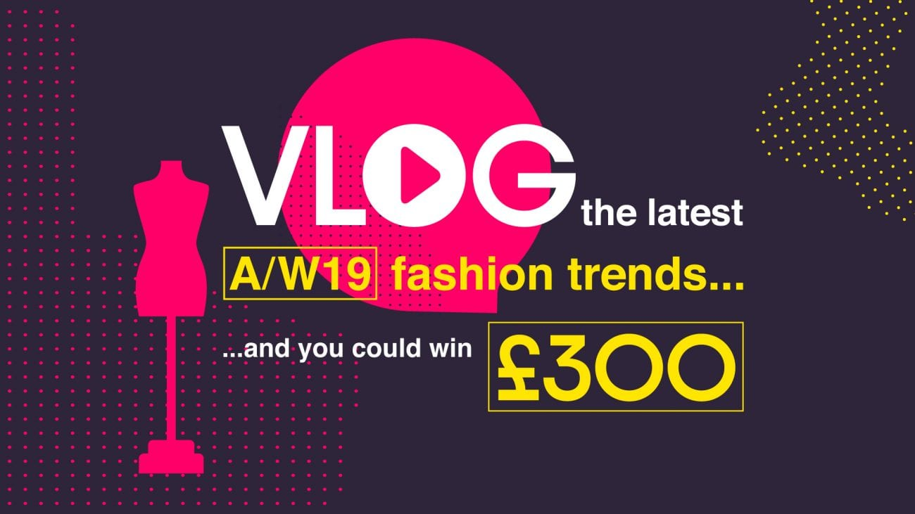 One lucky student set to win £300 as part of The Mall's vlogging competition