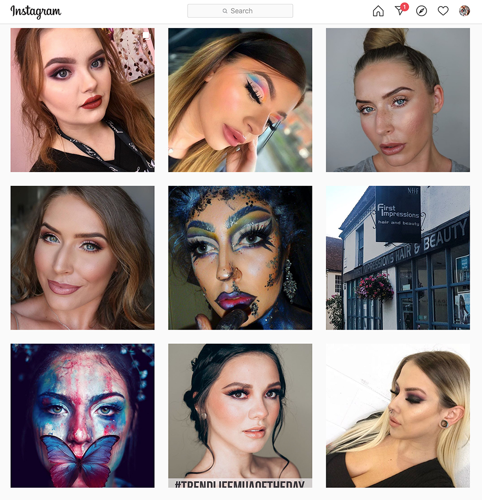 Makeup Artist of the day