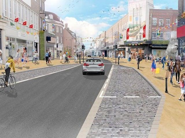 Bedford High Street changes