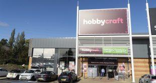 Hobbycraft Luton re-Opening