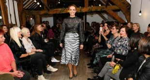 Chance to be in the virtual 'FROW' as models turn living rooms into catwalks