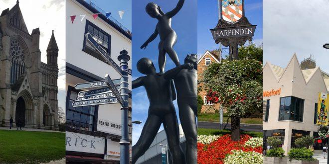 Hertfordshire towns