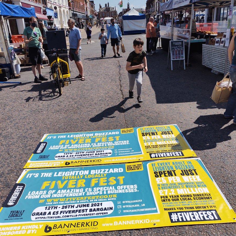 Fiver Fest hits Leighton Buzzard this week